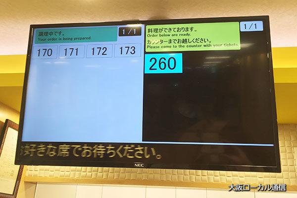 松屋 新大阪東口店セルフ注文方式