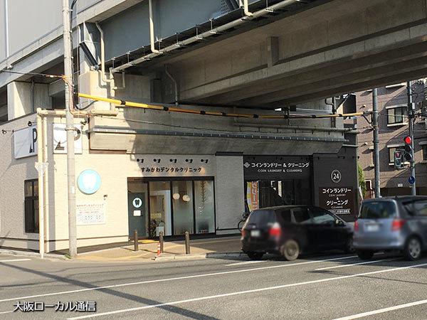 駅前の店舗