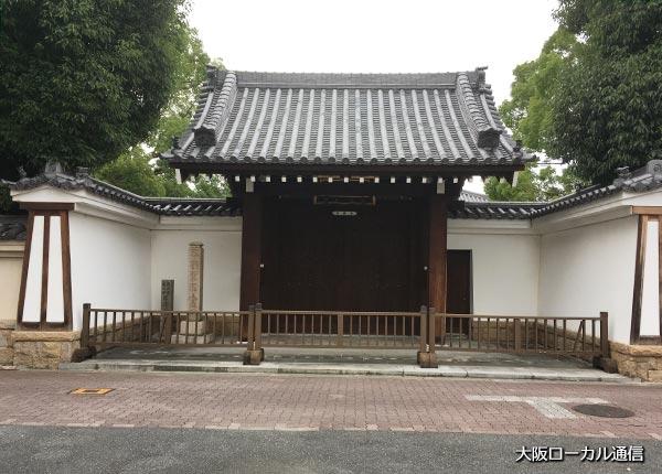 崇禅寺の南門