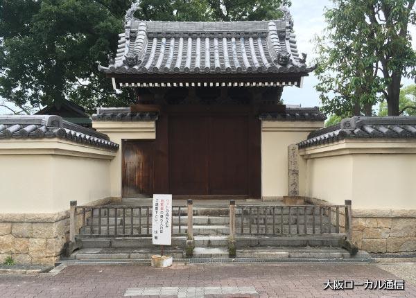 崇禅寺の西門