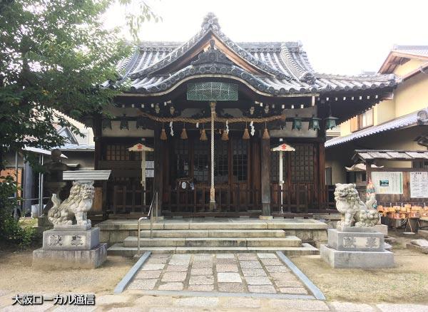 東淀川 柴島神社