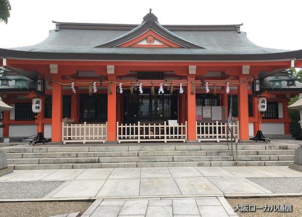 中島惣社 本殿
