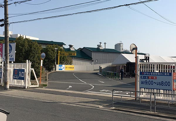 コーナン東淀川菅原店の駐車場