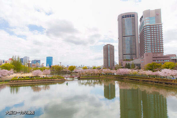 桜の名所、桜ノ宮公園