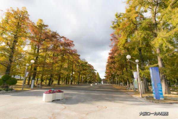 大阪市鶴見区にある鶴見緑地公園